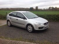 2006 Ford Focus 1.8 LX TDCI silver 5 door motd July 17