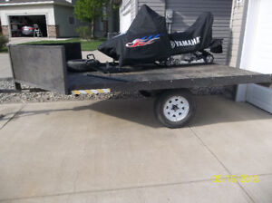 Sled, ATV, Quad, motorcycle Side by side trailer