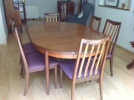 G-Plan Dining Table Danish Teak Retro