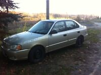 2002 Hyundai Accent - As Is