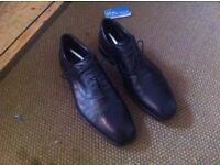 Size 9 1/2 leather shoes