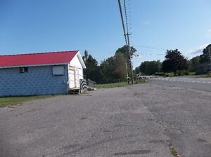 Hwy Commercial Property On Busy Corner!!