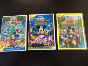 Kids DVDs and Blurays Cars, Mickey Mouse, Dora and more.