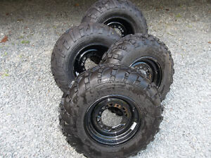 Original Polaris Sportsman Rims and Tires for sale