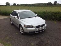 2006 Volvo S40 2.0 D SE E4 6 speed full mot silver