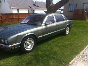 1996 Jaguar. Classic car