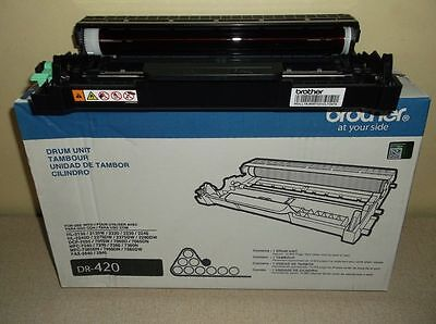 Brother Fax Drum Unit DR-420 DR420 New Genuine Open Box -FAST SHIP -L2,10, 21,22