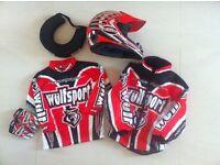 Childrens motorbike clothing