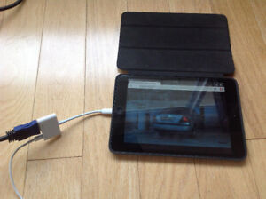 """CUT  CABLE COSTS-watch IPAD on TV --""""ADAPTER""""-- FREE movies & TV"""