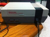 Original Nintendo Entertainment System complete with games