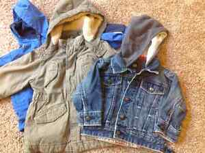 3 adorable fall/winter jackets size 2