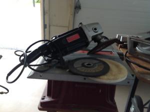 7 inch craftsman two -speed sander, grinder,polisher.