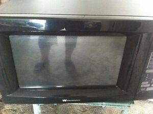 #TelusHelpMeSell - Black-Westinghouse Microwave Oven Kitchener / Waterloo Kitchener Area image 1