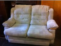Nice Comfy 2 Seater Sofa : free Glasgow Delivery