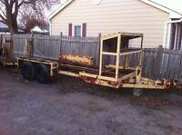Heavy duty trailer project.