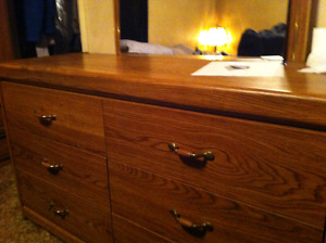6 drawer dressed with mirror