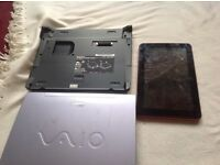 Sony vino laptop and tablet faulty screen brocken £10