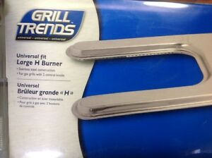 Replacement gas BBQ grill