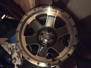 """""""REAL CHROME"""" Ultra Motors Sports offset 15 inch mags 5X114.3"""