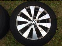 "16"" (2008) VW PASSAT B6 BLUEMOTION ALLOYS PCD 5X112"