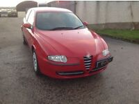 24/7 Trade sales NI Trade Prices for the public 2004 Alfa Romeo 147 1.6 T Spark red full mot