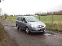 24/7 Trade sales NI Trade Prices for the public 2009 Vauxhall Zafira 1.6 I Breeze 7 Seater low miles