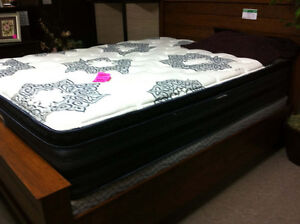 Queen Size Matt & Box - Used
