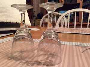 Fancy Oval crystal glasses West Island Greater Montréal image 1