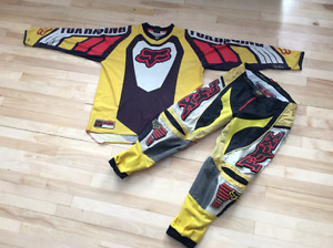 Gilet et pantalon motocross FOX