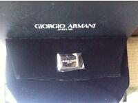 Giorgio Armani clutch bag genuine