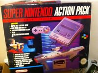 Snes action pack