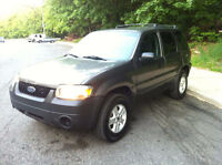 missing 2006 Ford Escape Charcoal color