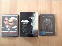 Game Of Thrones Series 1, Star Wars Trilogy, Sleepy Hollow