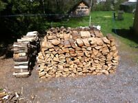 Very well seasoned firewood - 5 face cords