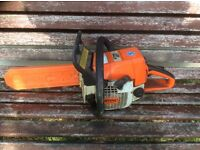 Stihl chainsaw 021 or ms210