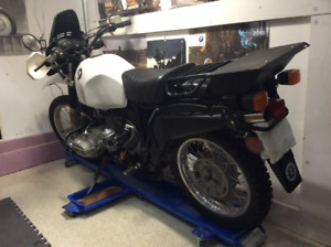 Low mile 1981 BMW R80G/S for sale.