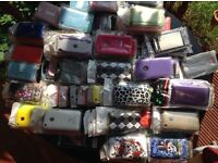 Over 200 iPhone cases..