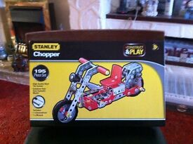 Stanley Chopper Construct and Play Set