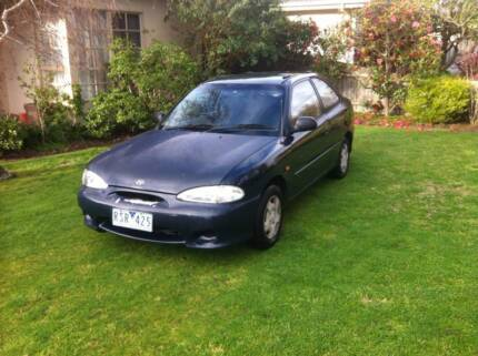 1999 Hyundai Excel Cheltenham Kingston Area Preview