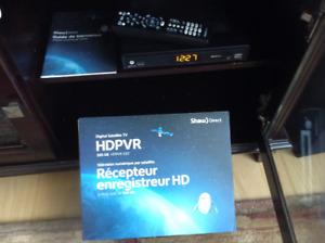 Décodeur\ enregistreur shaw direct HD PVR 630