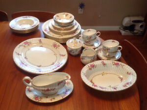"""Royal Worcester china """"Astral"""" circa 1935 - 32 pieces - $300.00"""