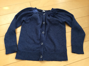 Light weight knit navy cardigan size 4