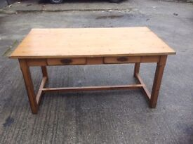 Pine table and four chairs - Absolute bargain-reduced to £60 ono - must go need space
