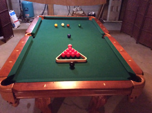 4 x 8 Slate Pool Table