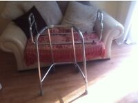 Zimmer frame and bed guard