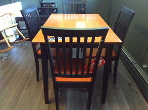 New table set not used , $250