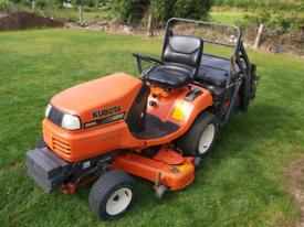 Kubota G21 Diesel High Tip Lawnmower