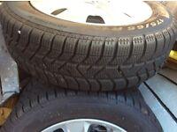 Honda Jazz winter alloys and tyres 2015