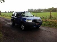 24/7 Trade sales NI Trade Prices for the public 2002 Land Rover Freelander 1.8 Blue