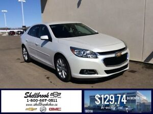 "2015 Chevrolet Malibu LT- LOW KM,7"" TOUCH,REAR CAM -$122.79 BW!"